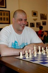 Me at the famous Marshall Chess Club!